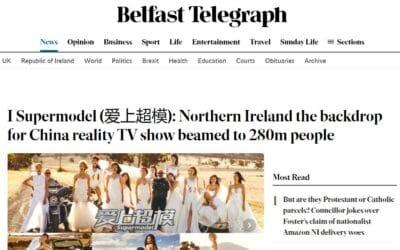 Belfast Telegraph – China I Supermodel 2015